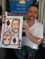 Playing Card Caricature