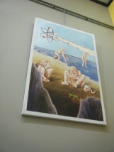 "Revalation Painting #2 (Set of 3) $500 24""x36"""