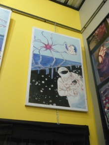 "Revalation Painting #3 (Set of #3) $500 24""x36"""