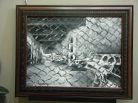 "Taxi Graveyard - $185 24""x36"""