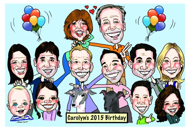 Carolyn's 2015 Birthday